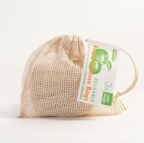 String Produce Bags - Set of 3 - Small - Reuse