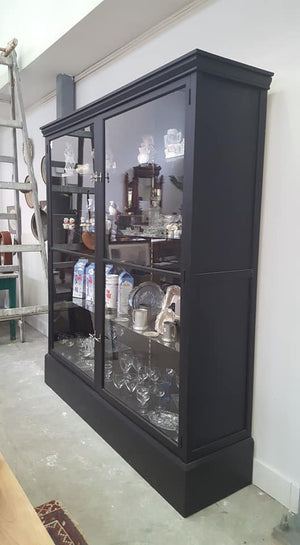 Vintage LARGE Display Cabinet - Beautiful Shop Display Cabinet