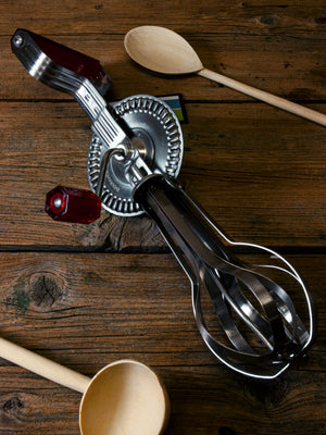 Egg Beater Red Handle