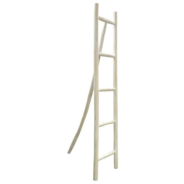 Greta Ladder 3 Leg White Wash