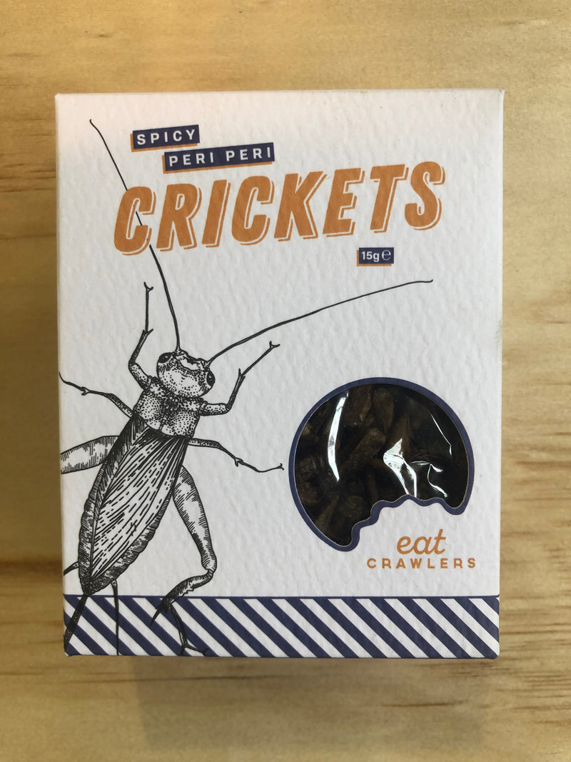 Spicy Peri Peri Crickets