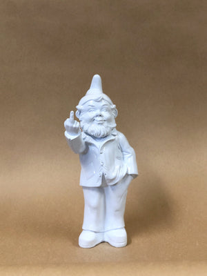 Gnome with Finger White