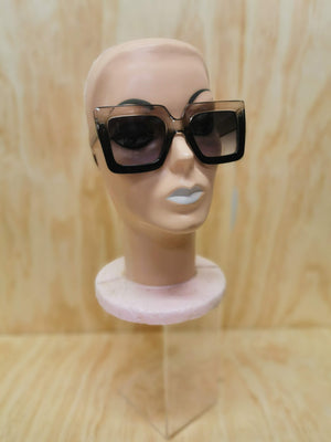 Sunglasses - Harlow - Clear/Black