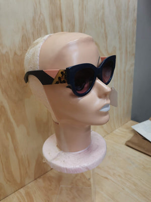 Block Navy Sunglasses