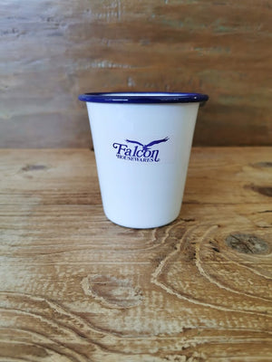 Falcon Tumbler 350ml White/Blue