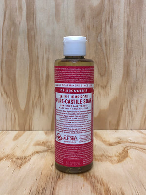 Organic Rose Oil Liquid Soap