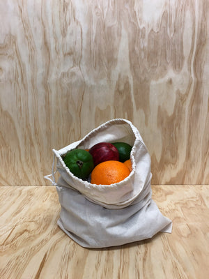 Drawstring Produce Bag // Medium
