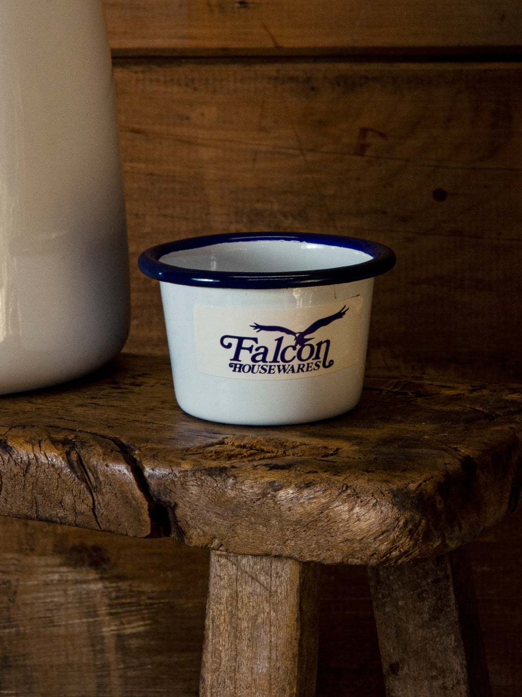 Falcon Mini Dip Cup Blue/white 6cm