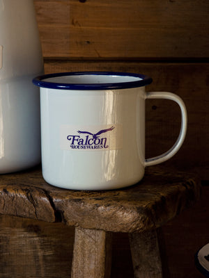 Falcon Dishy Mug 350ml White/Blue