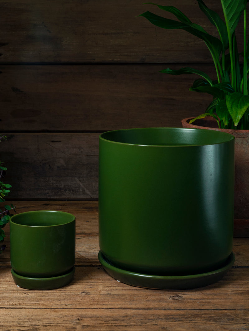 Oslo Planter - Medium - Avocado