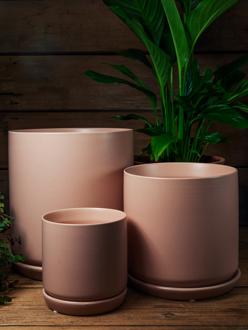 Oslo Planter - Peach - Large