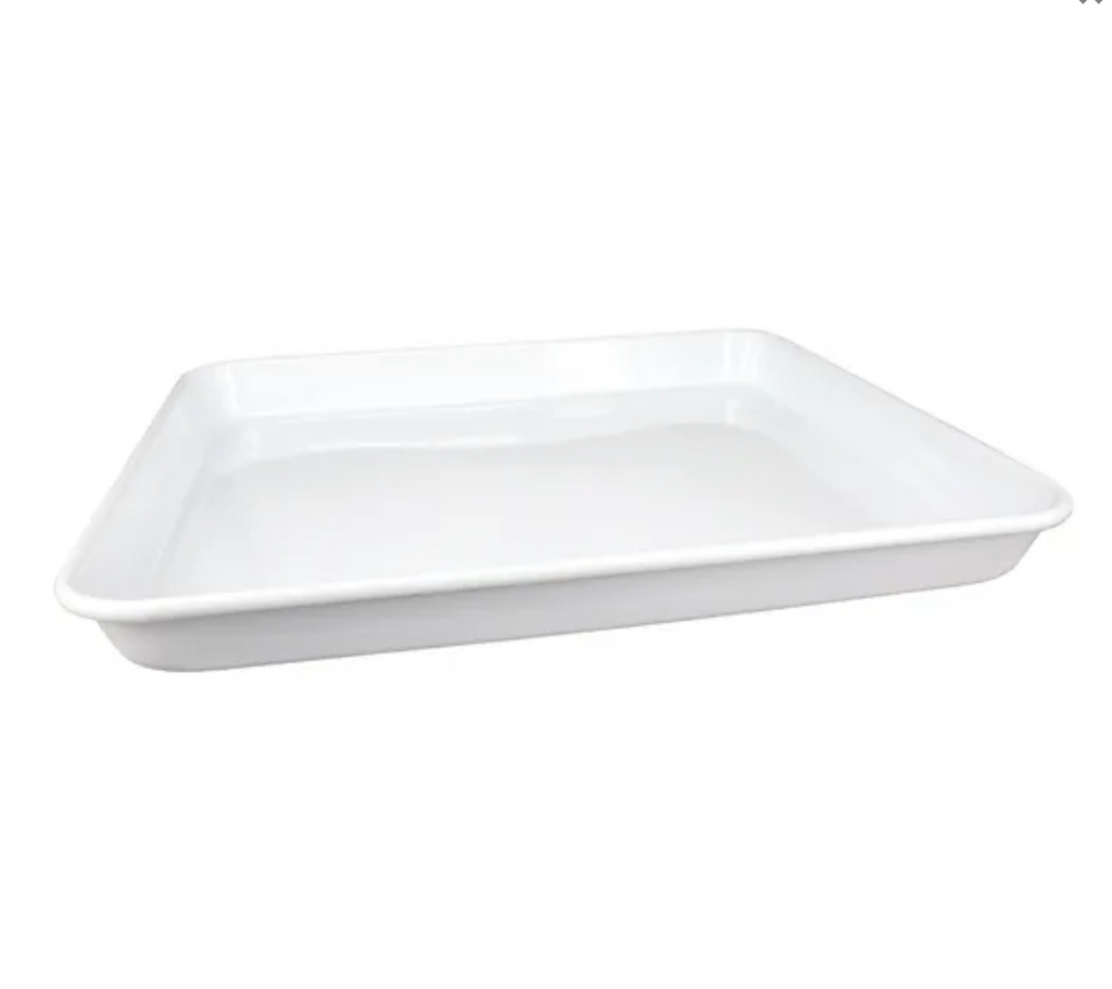 DISHY RECTANGLE TRAY 30CM - WHITE