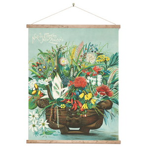 Native Flowers Wall Chart