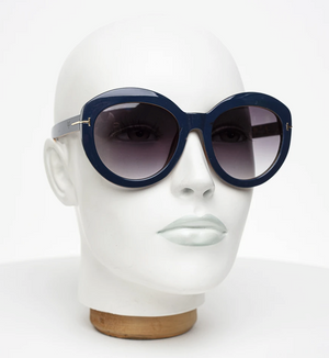 Sunglasses - Vanilla - Blue