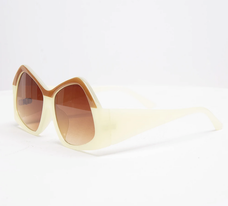 Sunglasses - Wrong - Creme