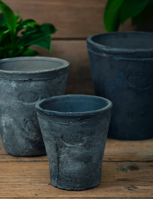 Grey Terracotta Pot - Small