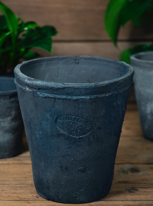 Grey Terracotta Pot - Large