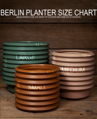 Small Berlin Planter - Rosewood
