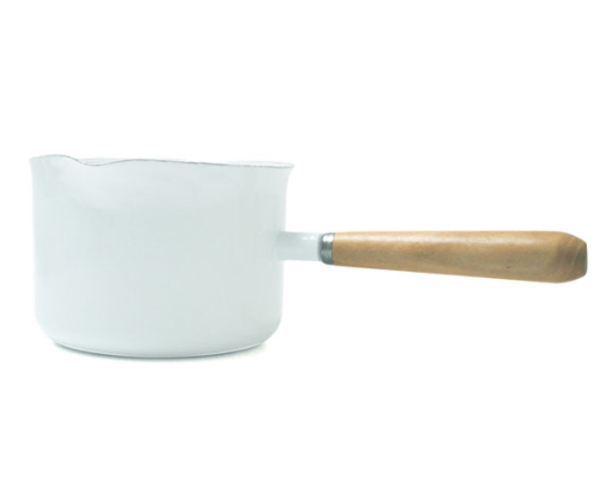 Enamel Gravy Maker White