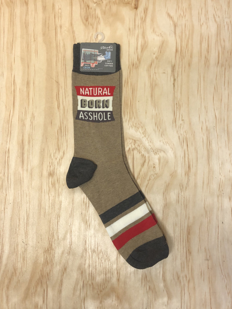 Natural Born A*shole Socks