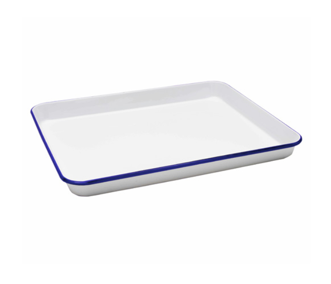 Falcon Swiss Roll Pan with Blue 28cm