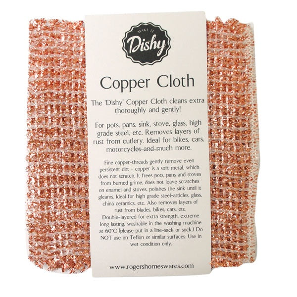 Dishy Copper Cleaning Cloth