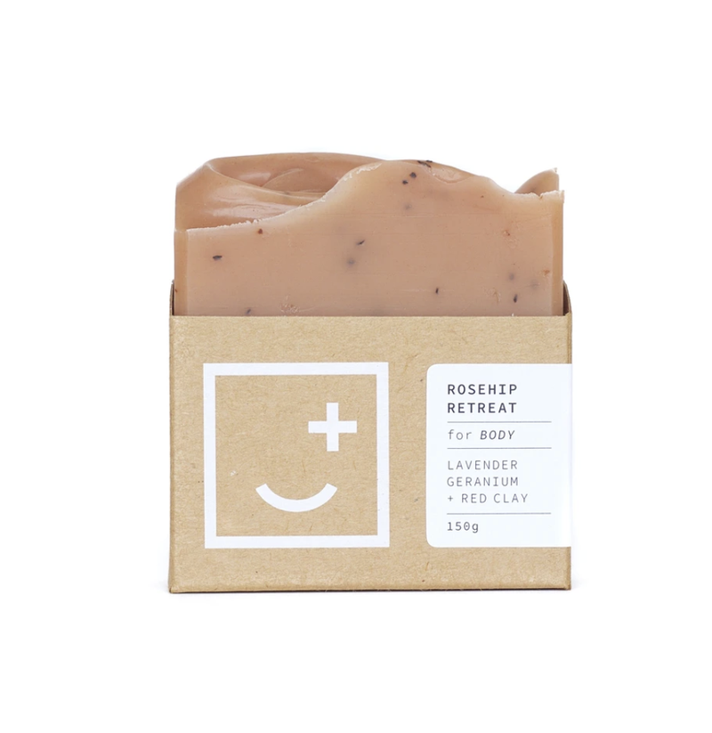 Fair + Square Soap - Rosehip Retreat