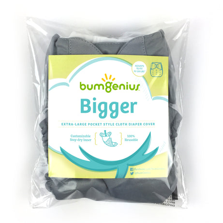 bumGenius Bigger™ - One-Size Pocket Cloth Diaper - fits 70-120 pounds
