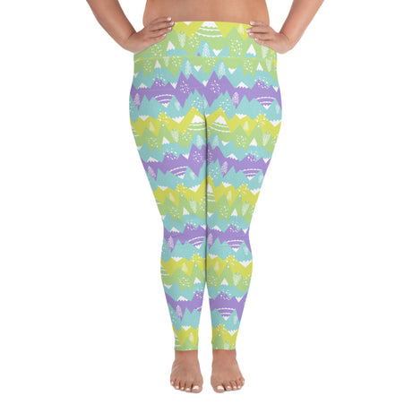 Adult Plus Size Leggings - Strong