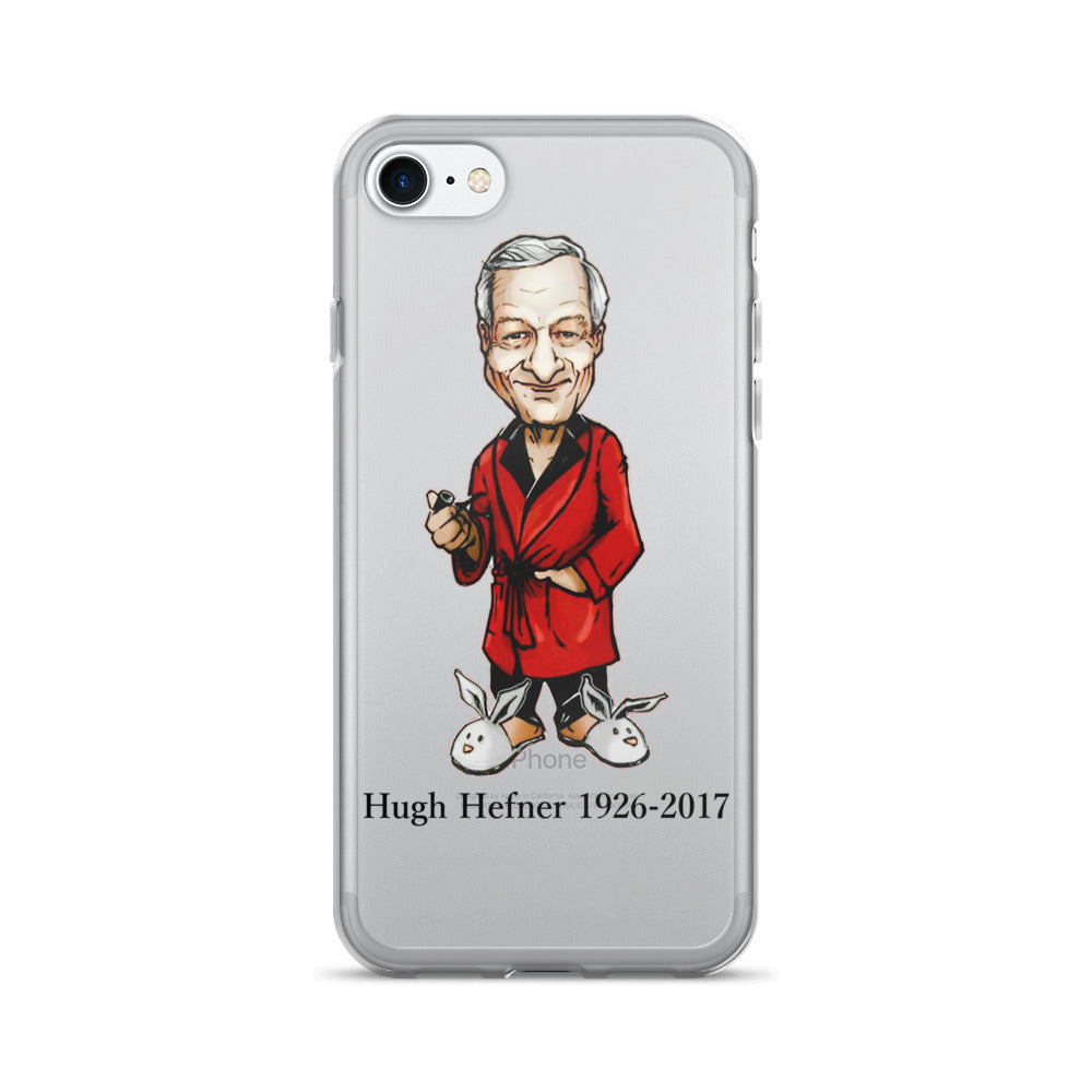 Hugh Hefner Remembrance iPhone 7/7 Plus Case