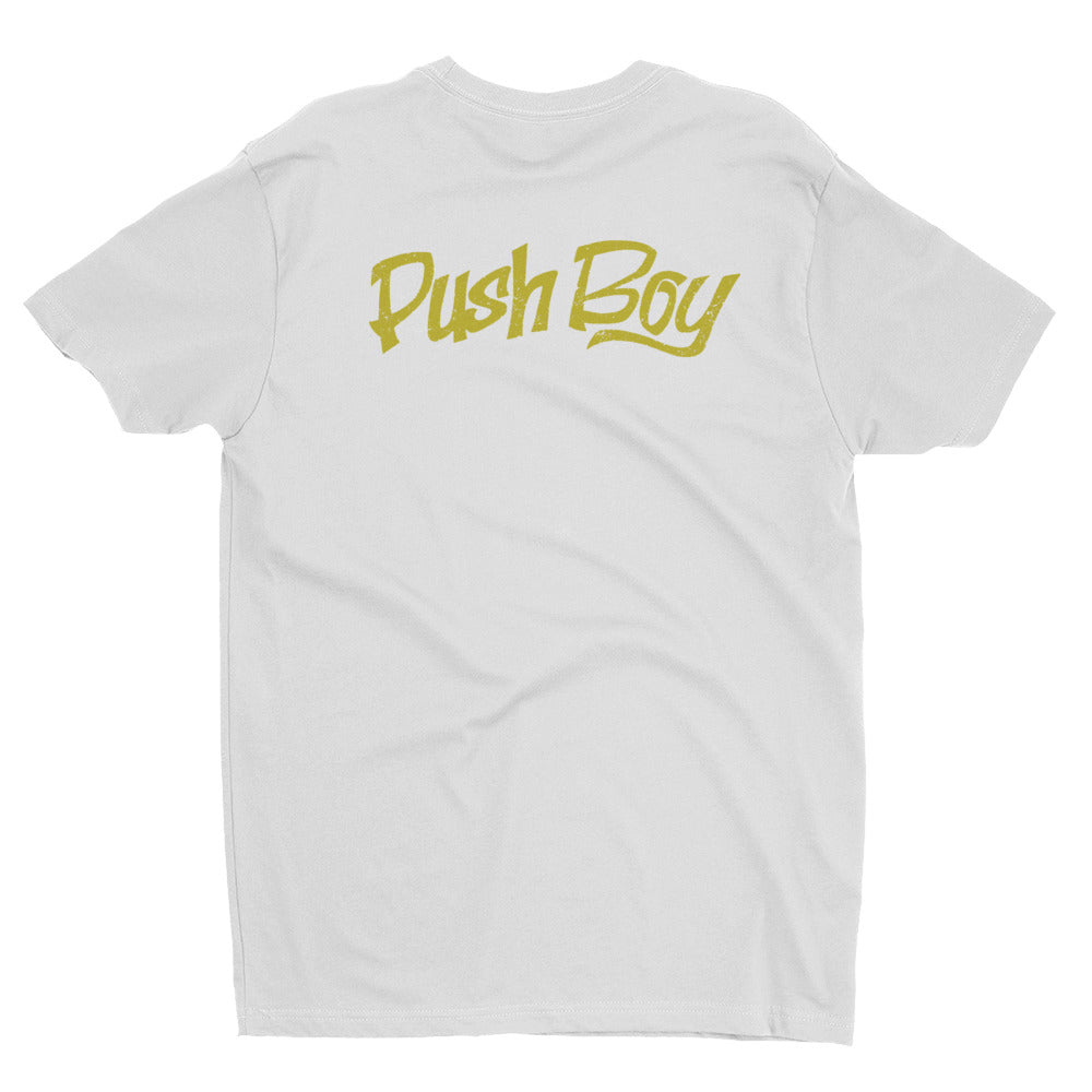 Push boy Gold Tshirt