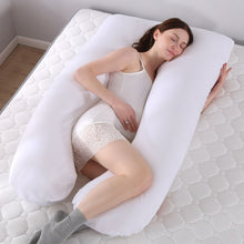U-Shaped Body Pillow Sleeping Support Pillow For Pregnant Women & Comfort.