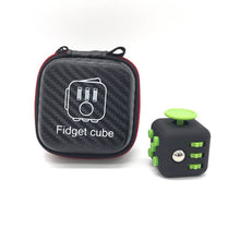 Fidget Cube with Zipper Case