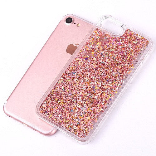 Dynamic Liquid Glitter Iphone Cover