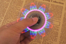 New Rechargeable LED Fidget Spinners! - Promo