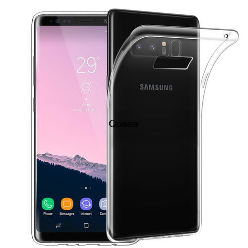 Qosea For Samsung Galaxy Note 8 Ultra-thin Transparent Case