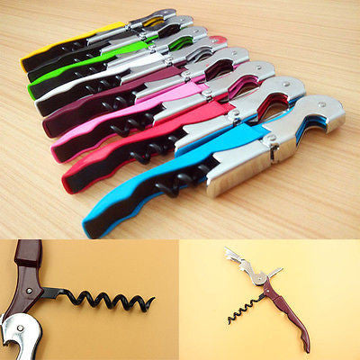 6 Colors Double Reach Corkscrew Bottle Opener