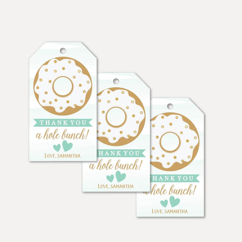 This is a graphic of Baby Shower Thank You Tags Printable intended for flamingo name
