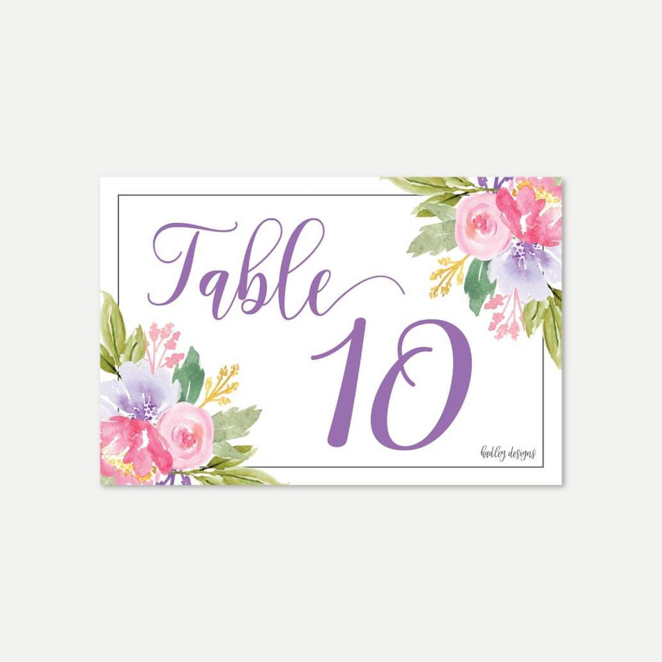 It is a picture of Table Numbers Printable in rustic