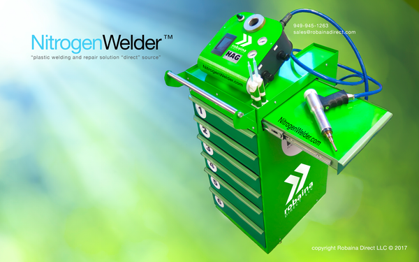 New plastic bumper welder for 2017 NitrogenWelder™