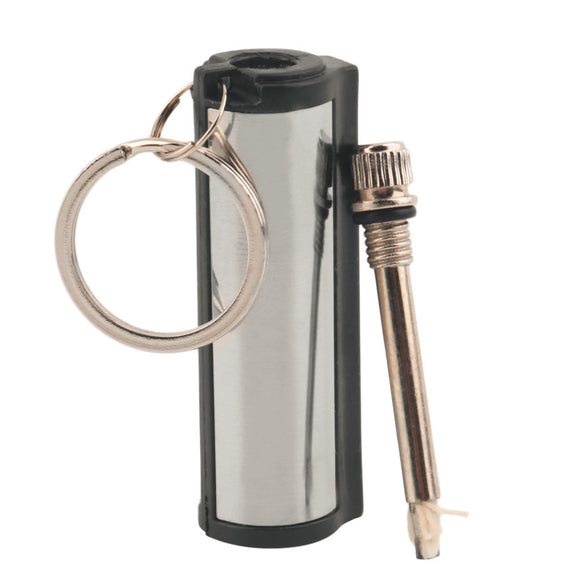 Keychain Stainless Steel Emergency Fire Starter