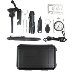 10-in-1 Survival Tool Box