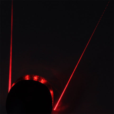 2 Laser +5 LED Flashing Bicycle Rear Lamp
