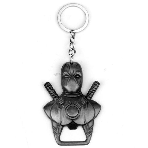 Deadpool Metal Keychain & Bottle Opener