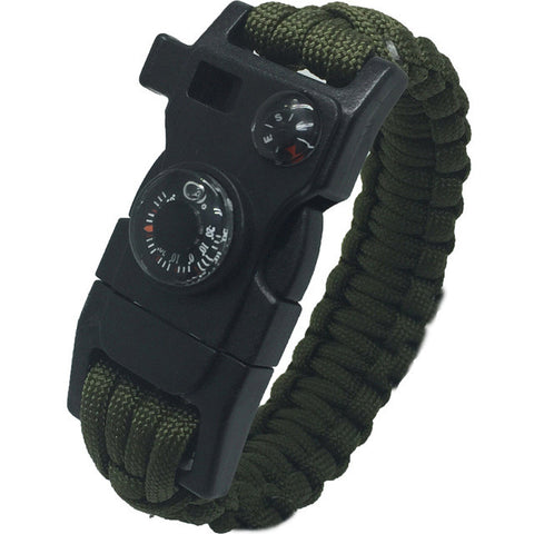15-in-1 Survival Tool/Bracelet for Outdoor Adventure