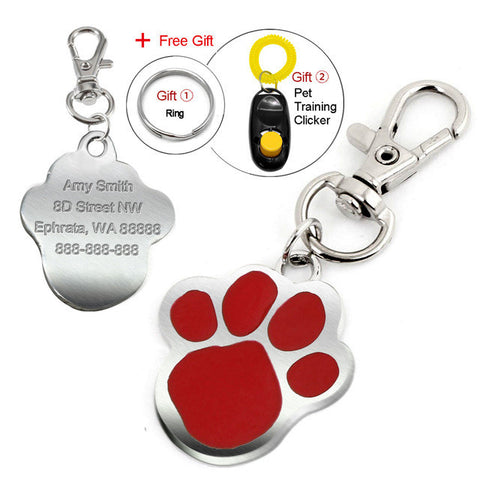 FREE Engraved, Personalized Pet ID Tags