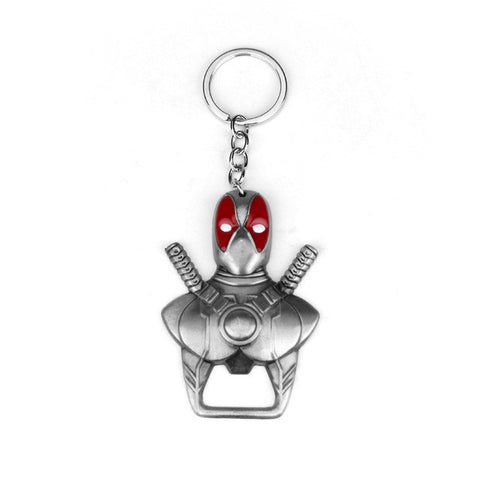 Deadpool keychain and bottle opener