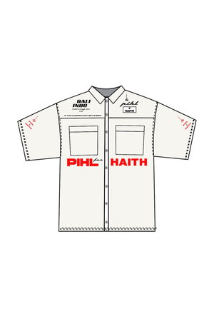 PIHL x HAITH - White Button Up