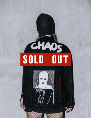 CHAOS - CUSTOMISED DENIM JACKET