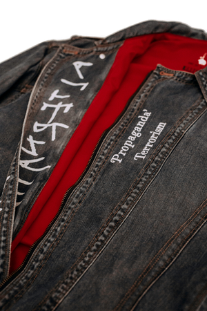 'DEVIL' - CUSTOMISED DENIM JACKET